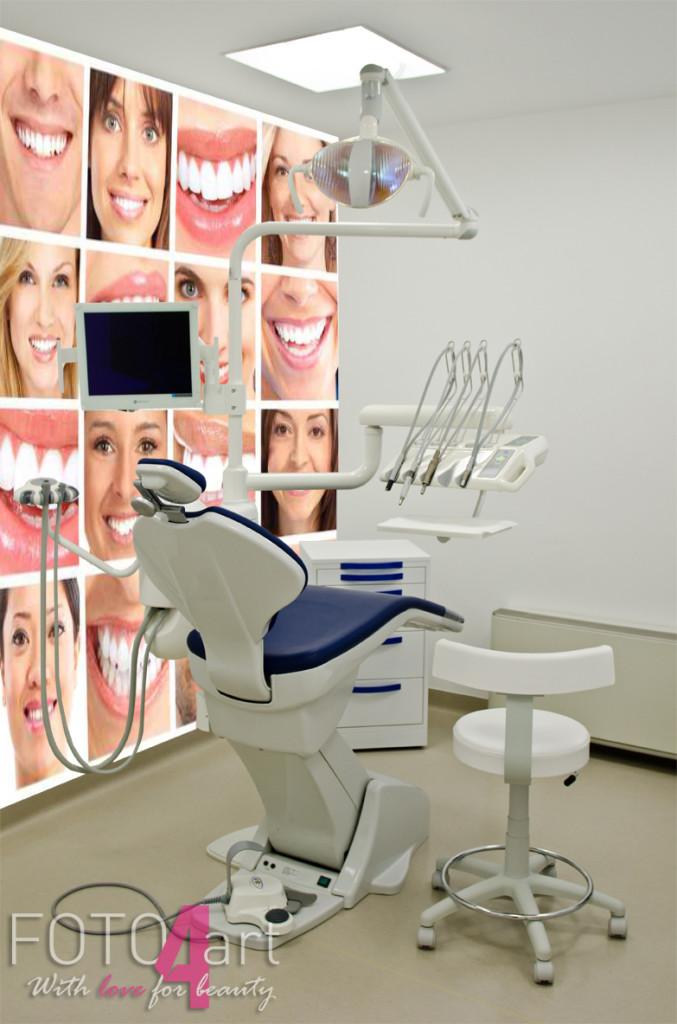 Fotobehang voor de tandarts