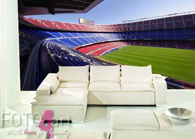 Fotobehang Camp Nou